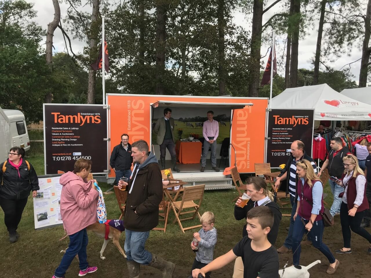 Tamlyns at Dunster and Mid Somerset Show
